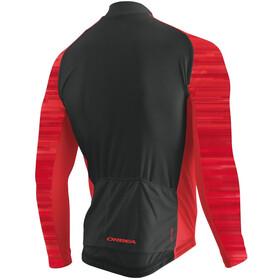 Orbea Fleece LS Jersey Men, red